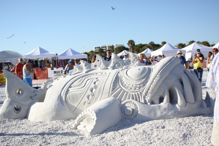 Siesta Key Crystal Classic Master Sand Sculpting Competition Nov. 14-18