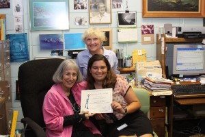 Shark Lady Awards Student Scholarship from Women Divers Hall of Fame