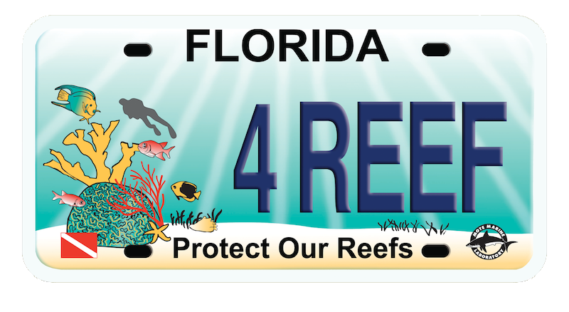 Protect Our Reef Plate