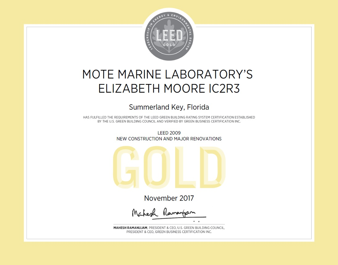 Mote Lab Earns First Leed Gold Commercial Certification In Monroe