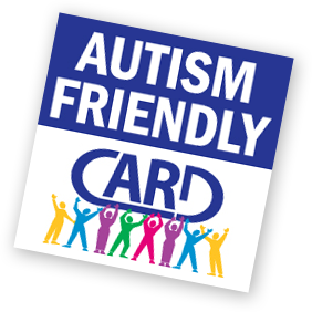 Autism Friendly logo provided by CARD USF