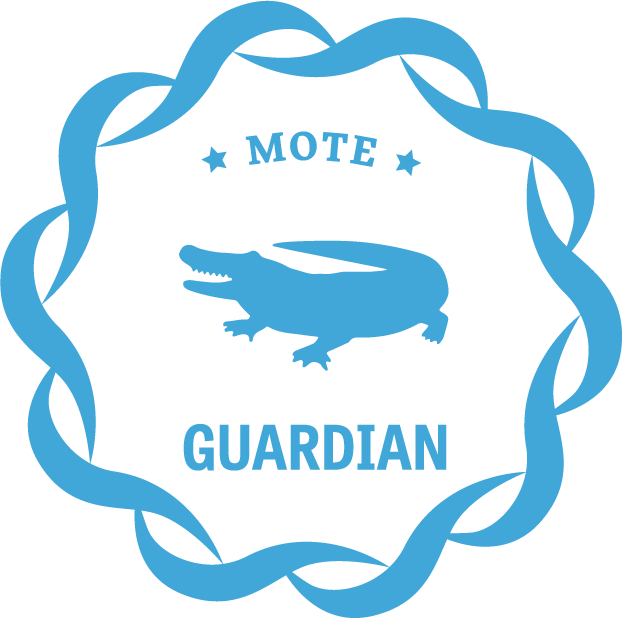 Guardian giving level icon for Mote donors