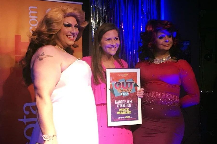Mote Aquarium Wins Best Attraction from SarasotaOUT.com