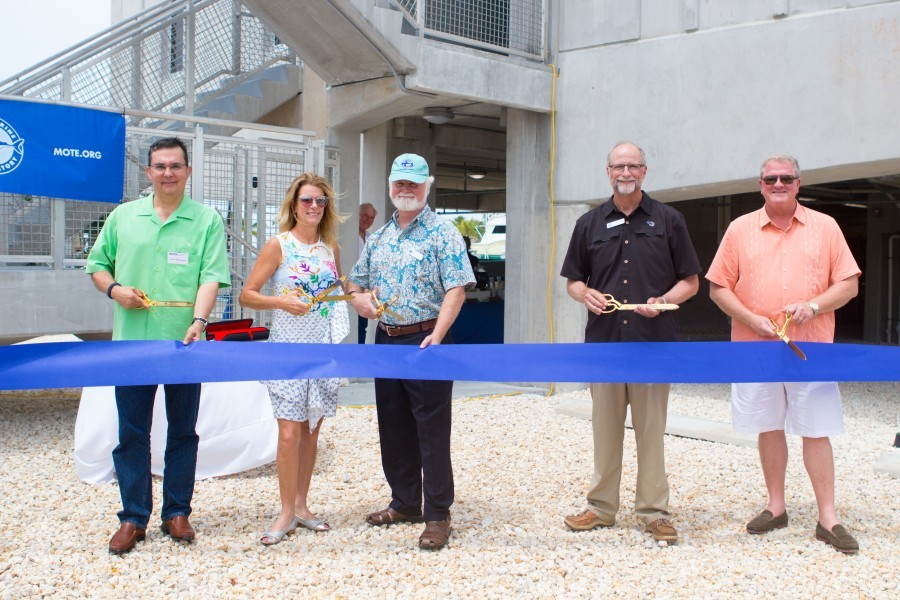 IC2R3 officially opened with a ribbon cutting on May 25, 2017.