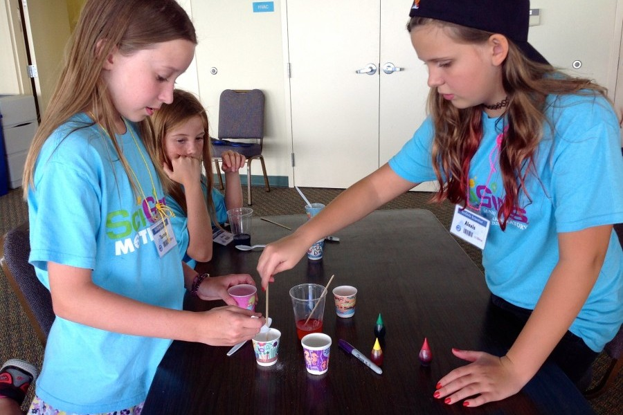 SciGirls participants will be immersed in different aspects of science and research through hands-on activities, games, etc.
