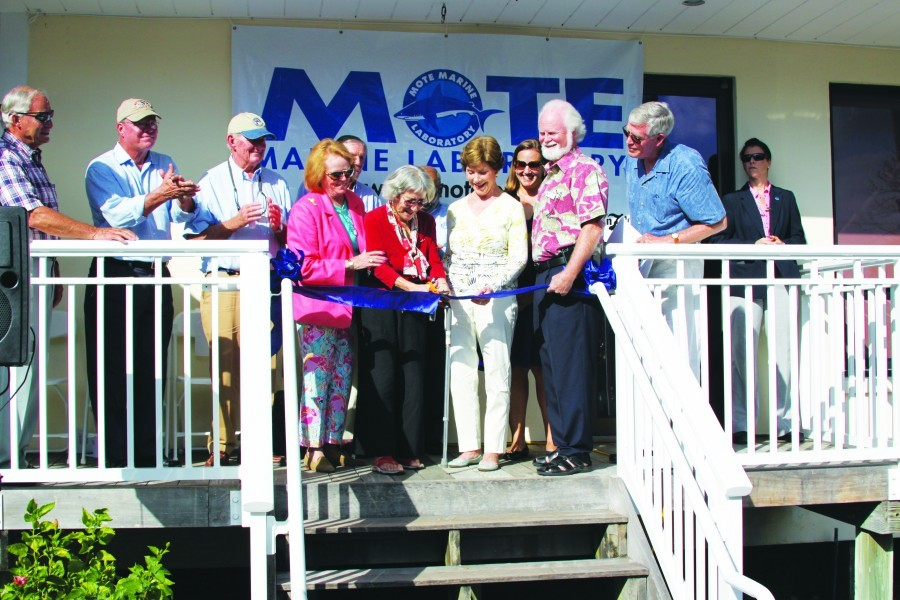 Grand opening of Mote's Boca Grande Outreach Office in 2013