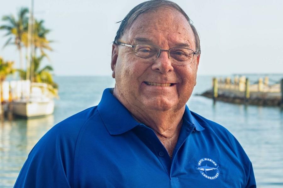 Mote welcomes Michael Puto its Florida Keys Advisory Council  Credit: Conor Goulding/Mote Marine Laboratory