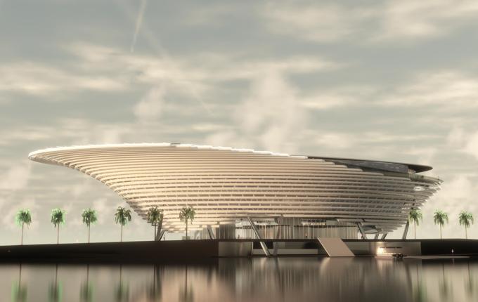 Mote Science Education Aquarium rendering. All renderings subject to change.