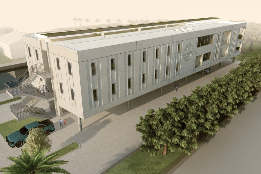 Demolition to make way for Mote's new lab in Keys