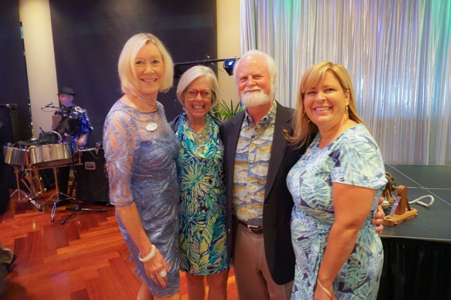 SYC Cares Under the Sea event attendees - photo credit Sarasota Yacht Club