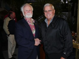 Mote President & CEO Dr. Michael P. Crosby and Key West Mayor Craig Cates