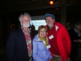 Mote President & CEO Dr. Michael P. Crosby, Joyce Burd and Ron Burd