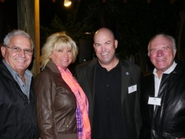 Key West Mayor Craig Cates, Cheryl Cates, Sam Morton, Superintendent Florida Keys National Marine Sanctuary, David Horan, Mote Keys Advisory Board Member