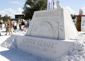 Siesta Key Crystal Classic entrance sign