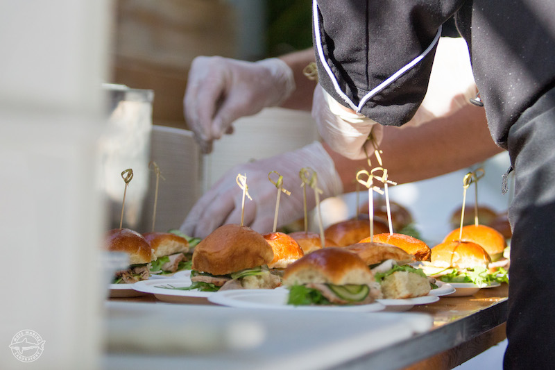 Beach House Employees Served Mojo Pork Sliders At Party On The P Hot Night