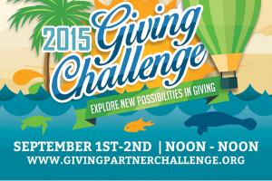 Love the Sea? Support the Science during the #GivingChallenge2015