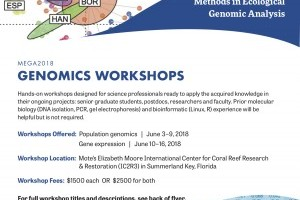MEGA2018 Genomics Workshop: Population Genomics