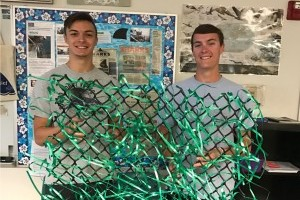 Space Coast students make artificial seagrass beds for reef fish study in the Florida Keys