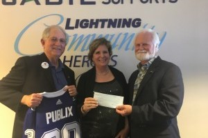 Mote Awarded $50,000 gift thanks to Tampa Bay Lightning Community Heroes, Carol and Barney Barnett