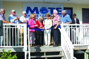 Mote's Boca Grande Outreach Office Opens for 2017-18 Season, Celebrates Fifth Anniversary