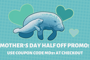 Mother's Day discount at Mote Aquarium