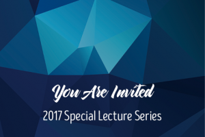 Special Lecture Series: Dr. Ryan Schloesser