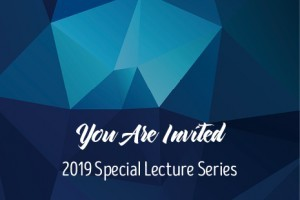 2019 Special Lecture Series: Dr. Richard Pierce