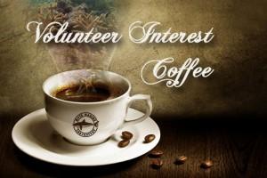 Volunteer Interest Coffee January 2018