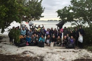 City Island Coastal Clean-up April 2017