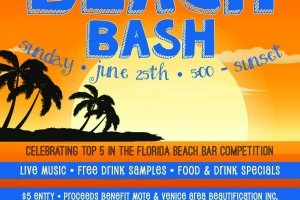 Sharky's Sunset Beach Bash